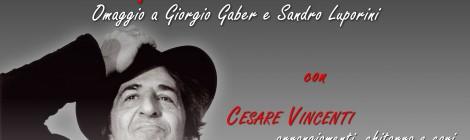 CIAO GABER RECITAL DI ANDREA FERRARI